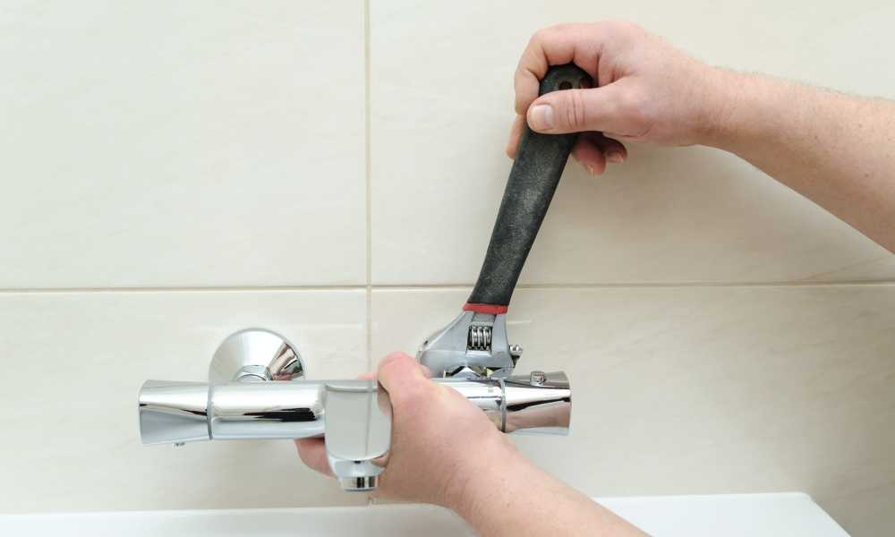 Replacing the Bathroom Faucet
